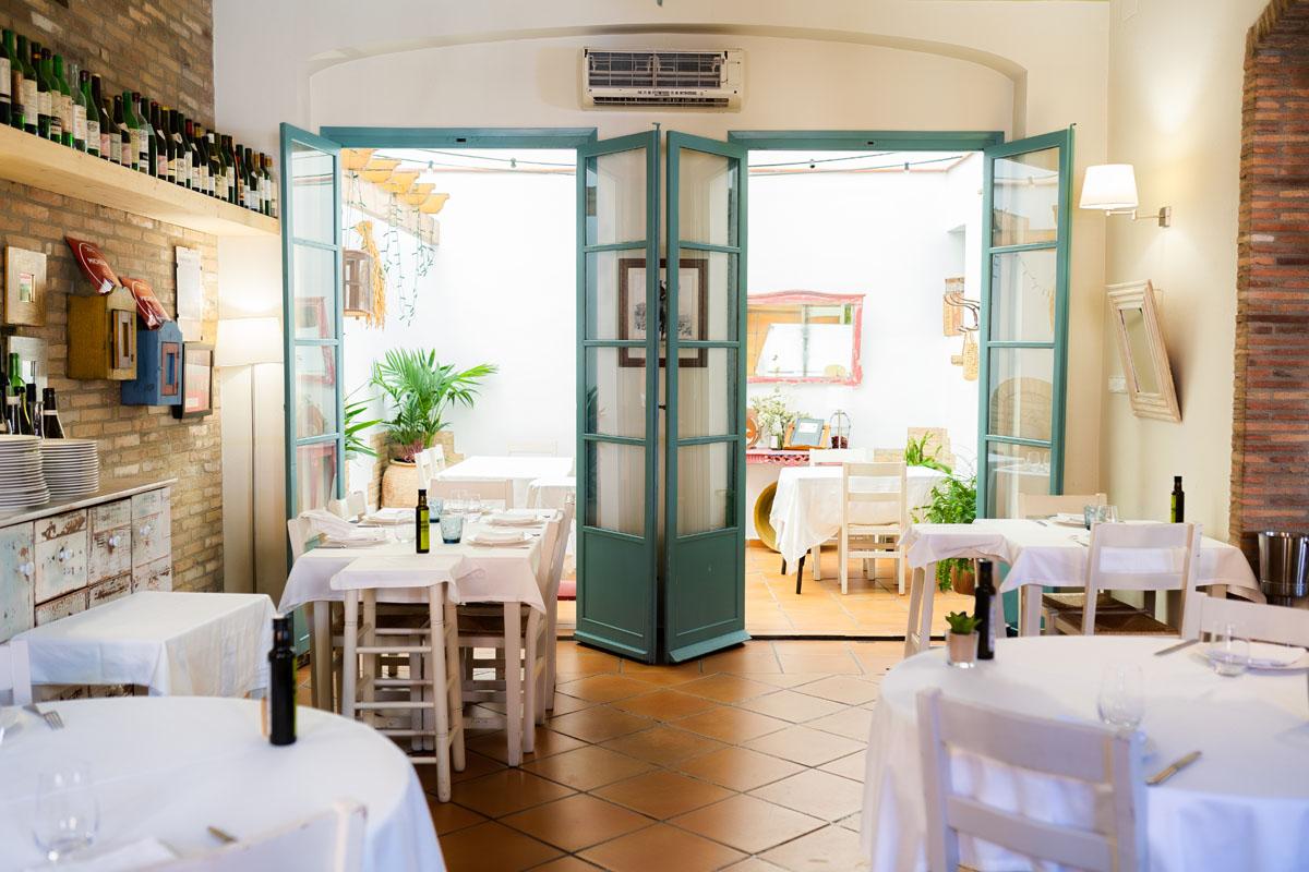 Interior restaurante Ca Pepico
