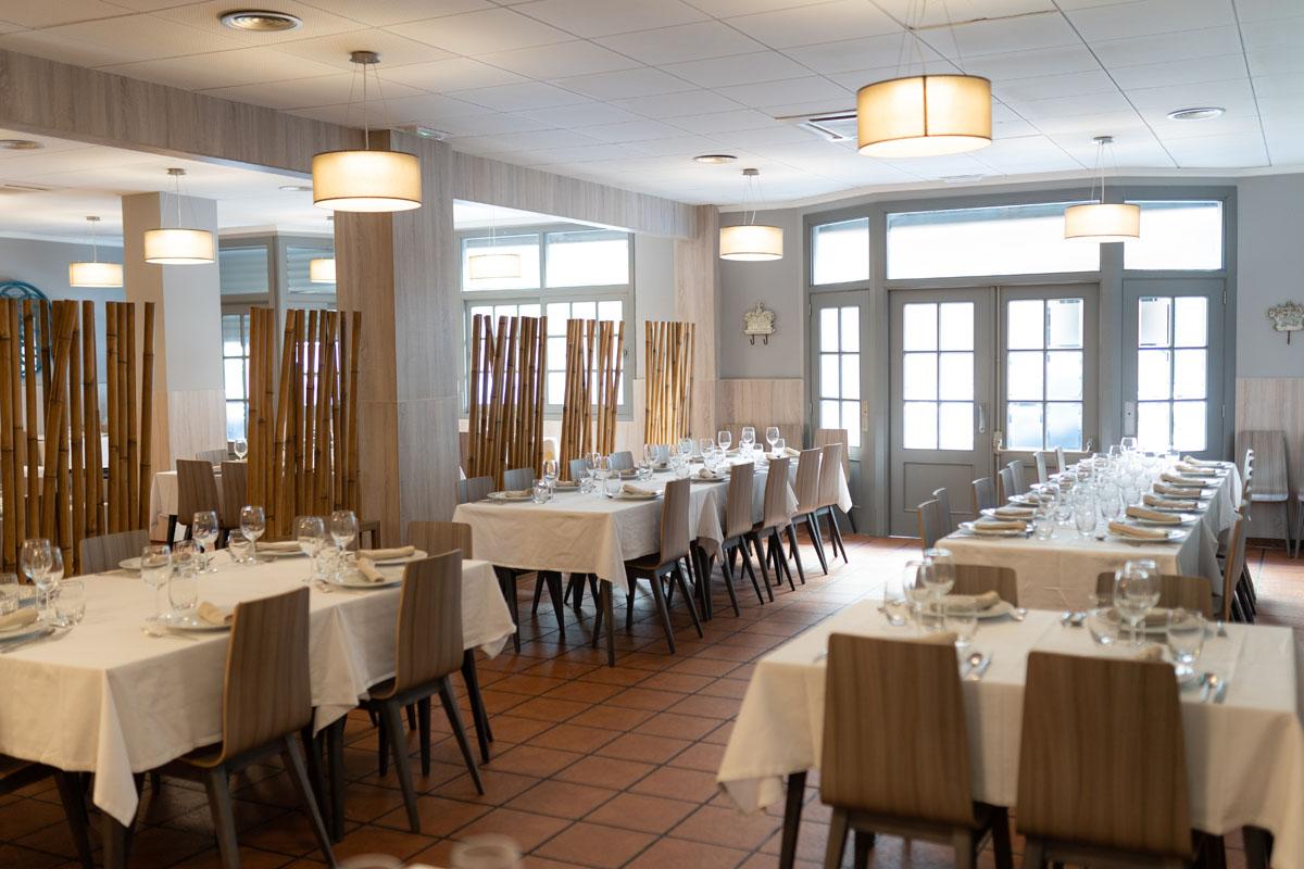 Interior restaurante El Racó