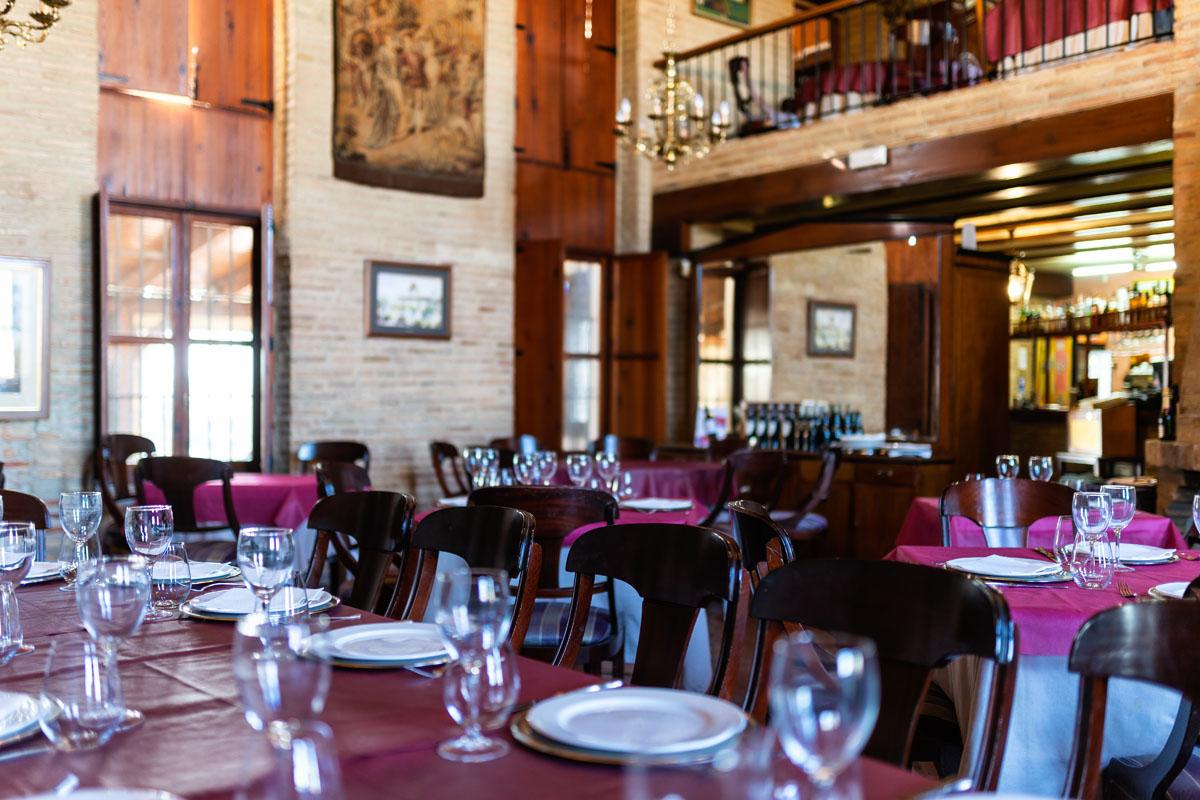 Interior restaurante Lluna de Valencia