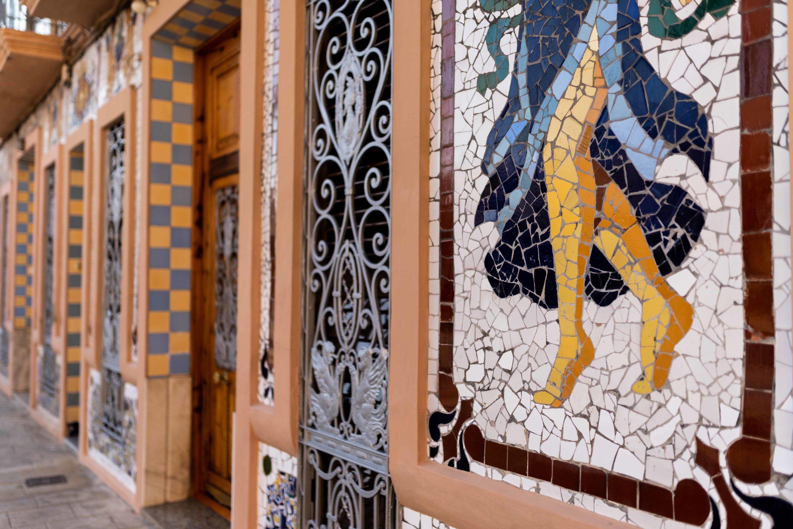 Mosaicos Casa LLopis. Casa LLopis. Qué Visitar en Huerta Valenciana