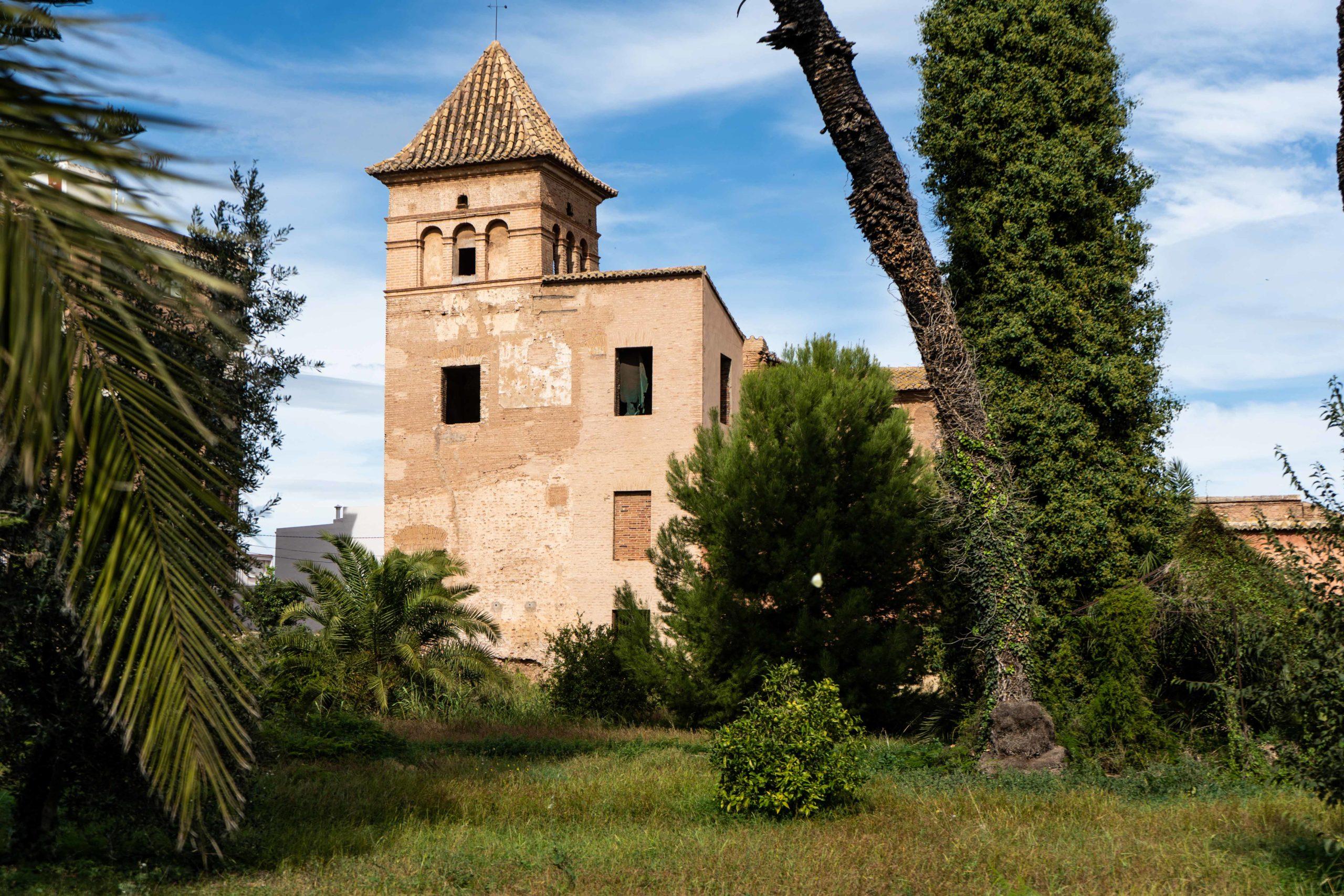 Casa de la Sirena. Vista exterior. Patrimonio Huerta Valenciana