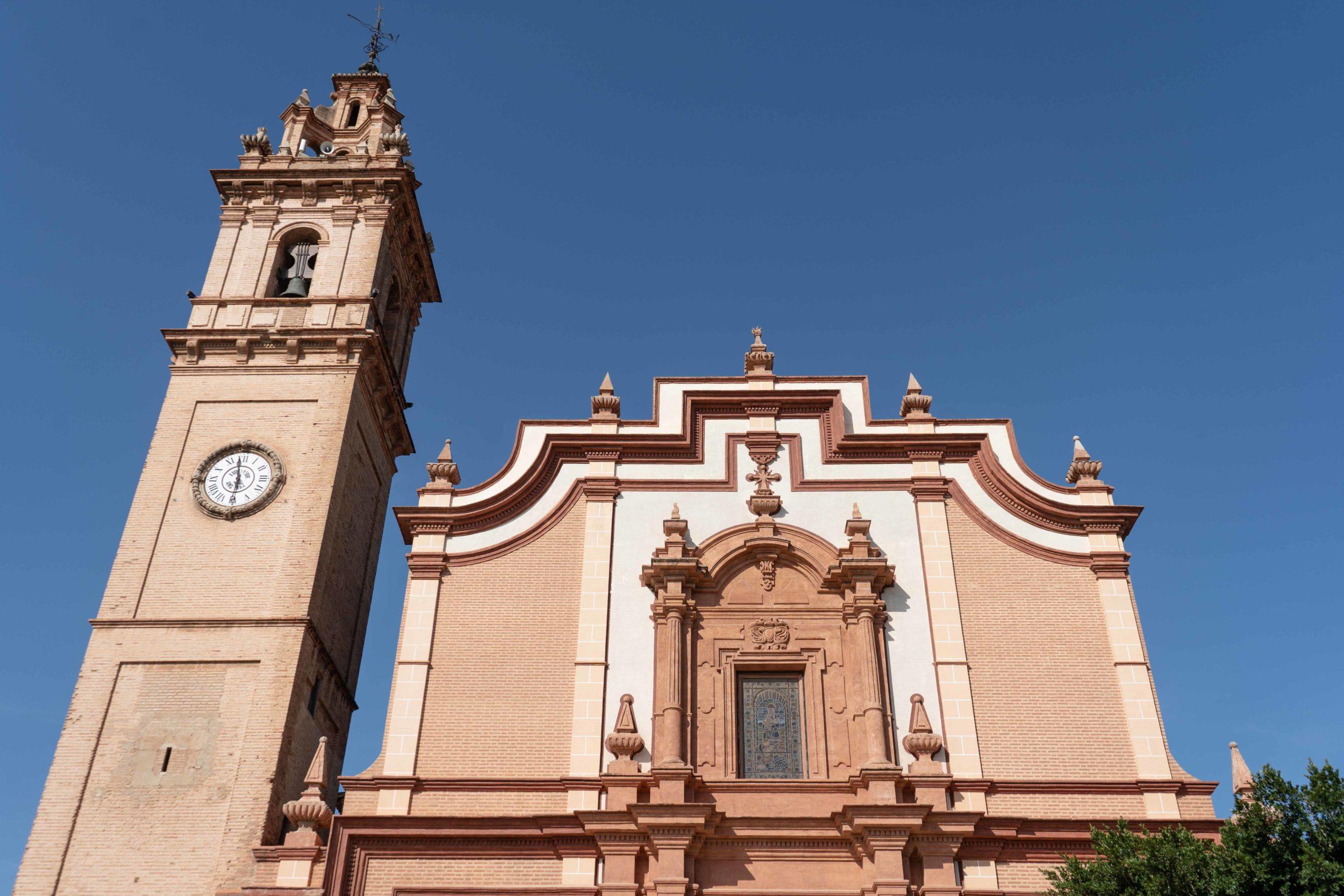 Iglesia Asunción en Foyos. Patrimonio en huerta valenciana