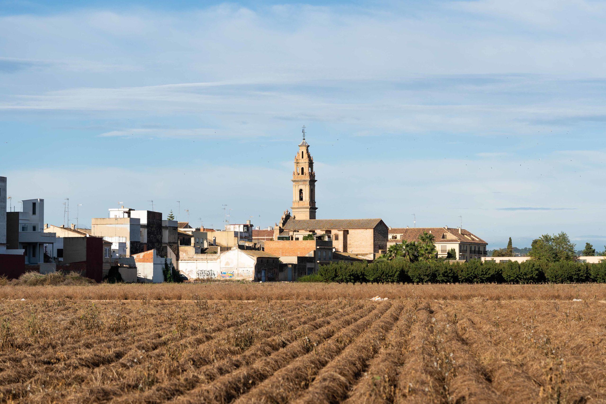 Iglesia del Pilar de Bonrepós. Visitar Huerta Valenciana
