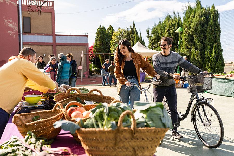 mercado en la Huerta de Valencia