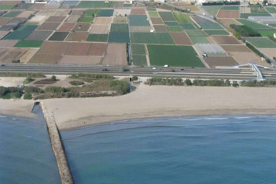 Playa natural de Valencia - Meliana
