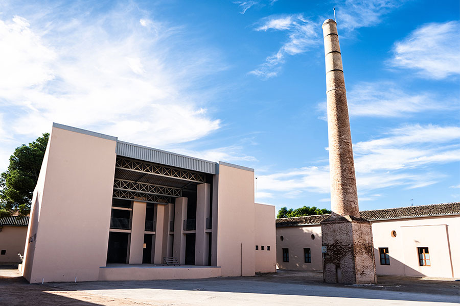 Fábrica de la Seda en Vinalesa
