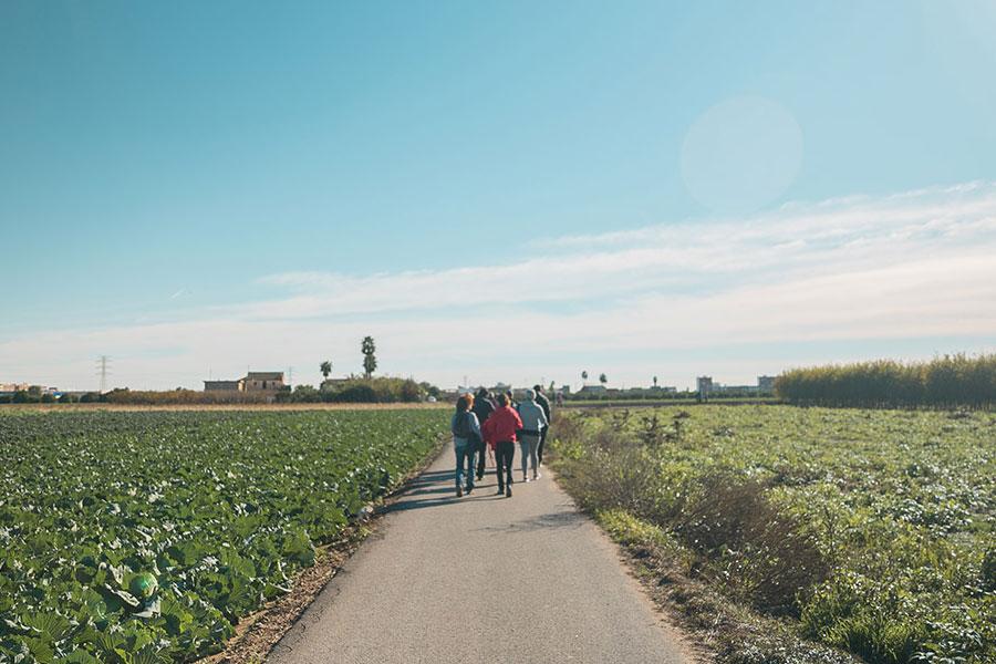 Caminos de la huerta valenciana, cicloturismo en Valencia