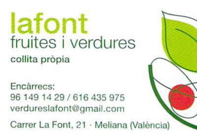Fruiteria La Font