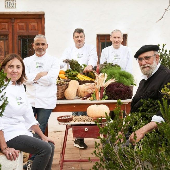 Cocineros de la huerta Valenciana