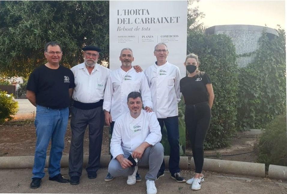 cocineros lHorta Carraixet